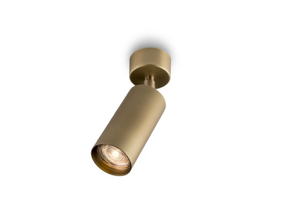 stupa tondo spot rubbed brass EXCL.LED MODULE